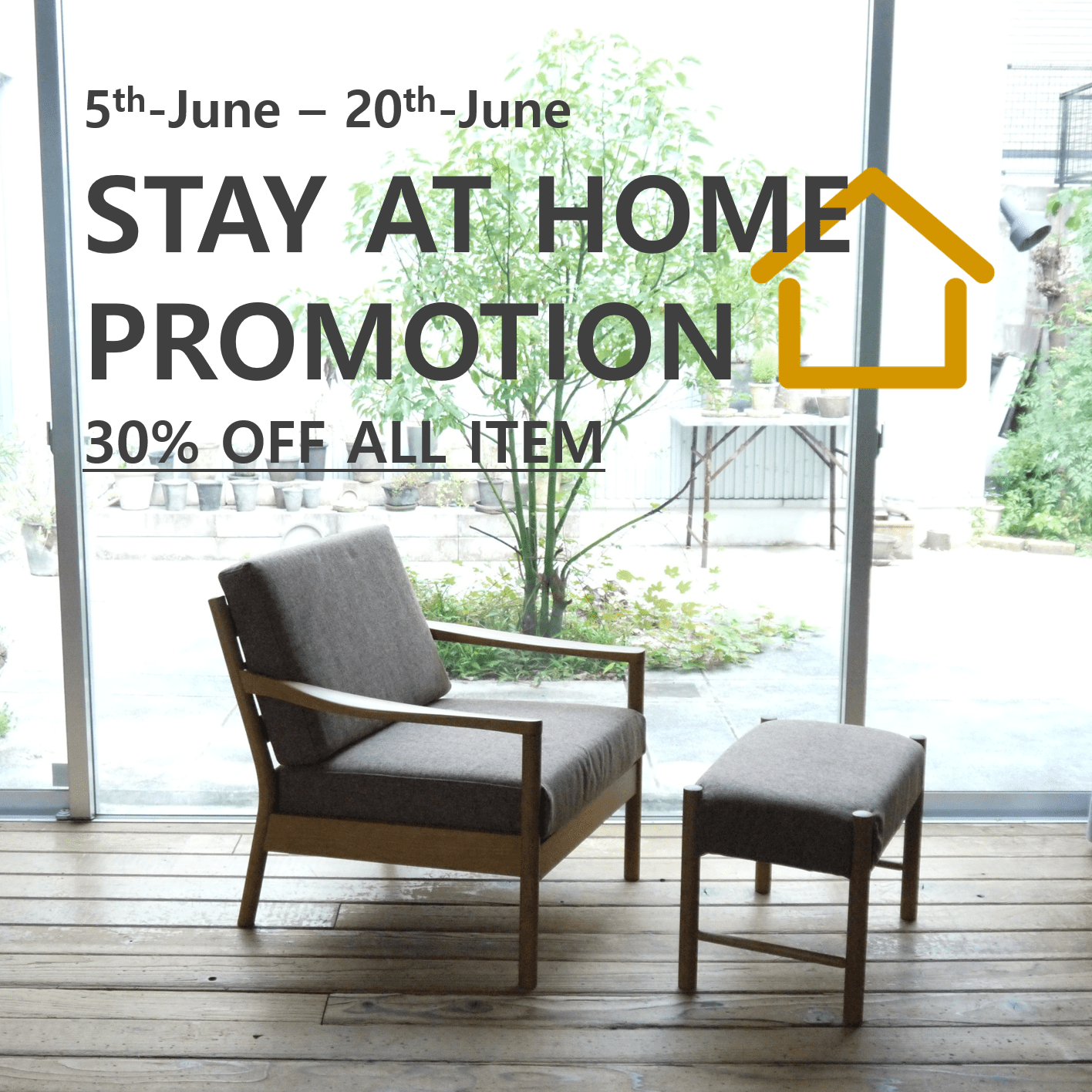 STAY AT HOPE PROMOTION